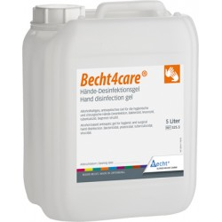Gel dezinfectant maini - Becht4care 5L